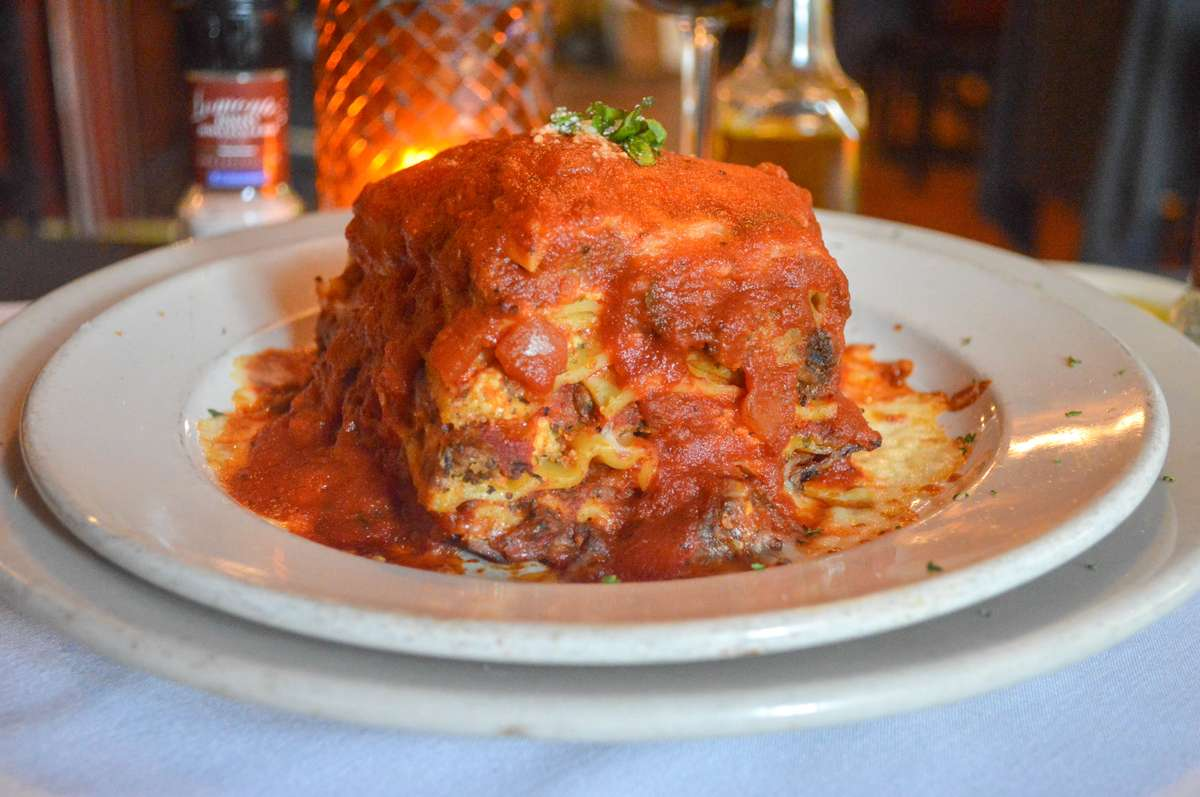 Lomonte's Beef Lasagna