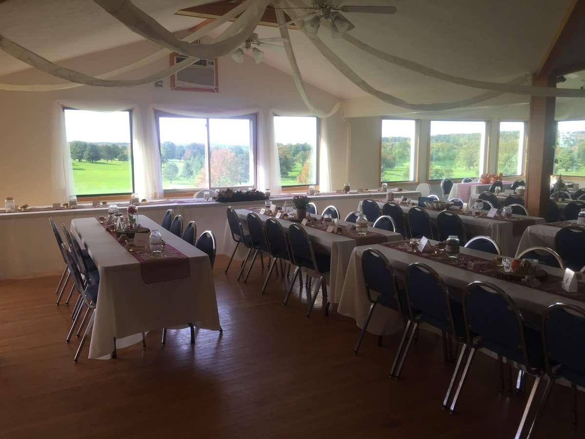 interior catering tent
