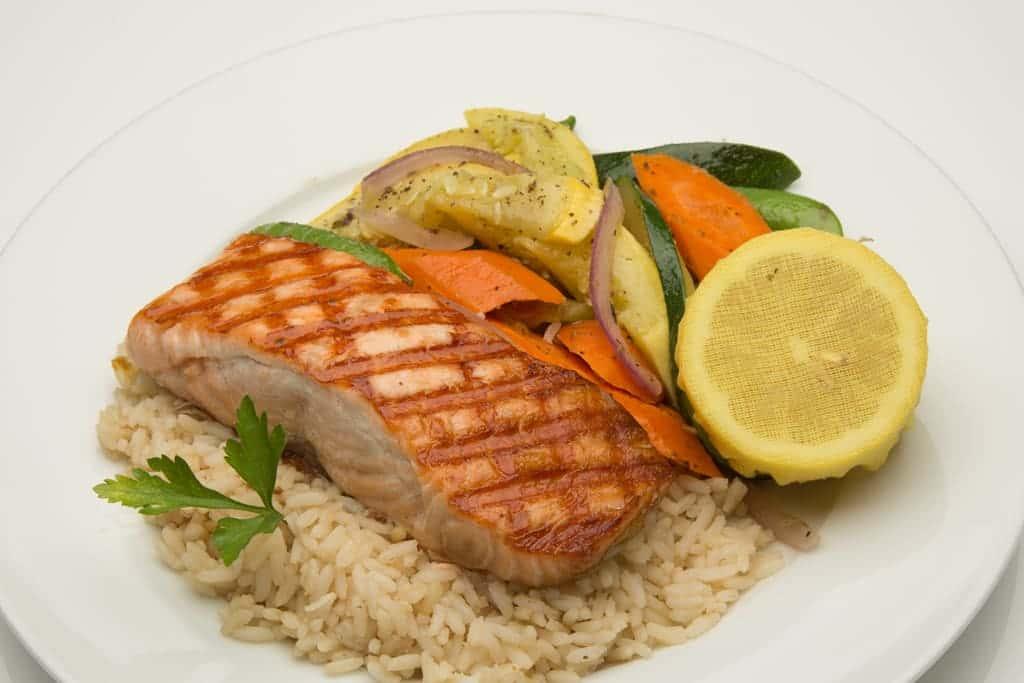 Grilled Mediterranean Fresh Seafood