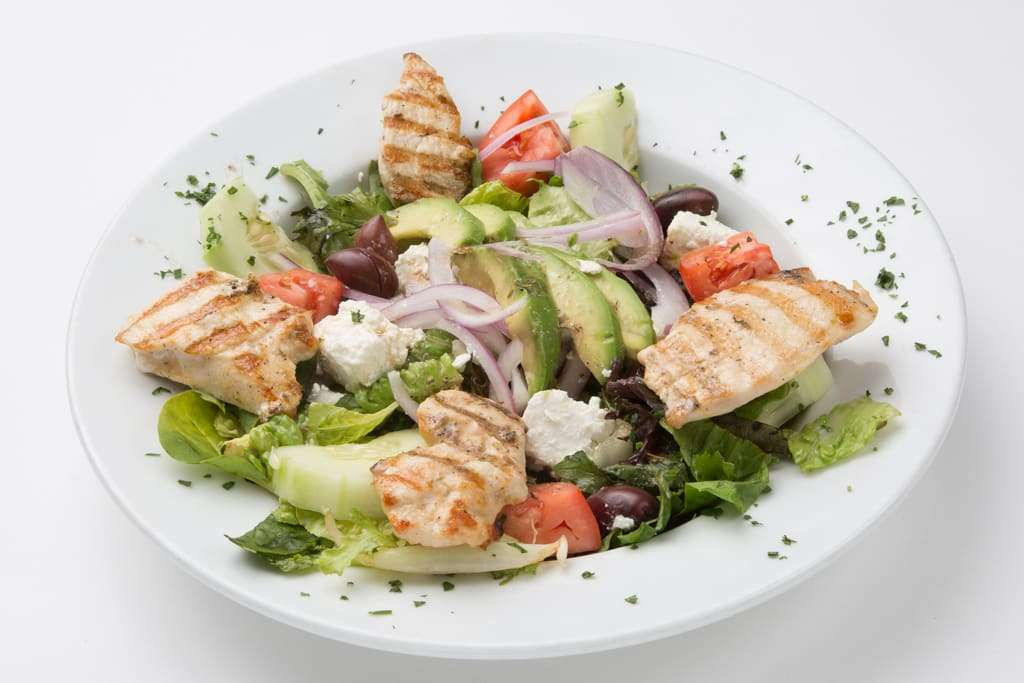 Blue Mediterranean Salad