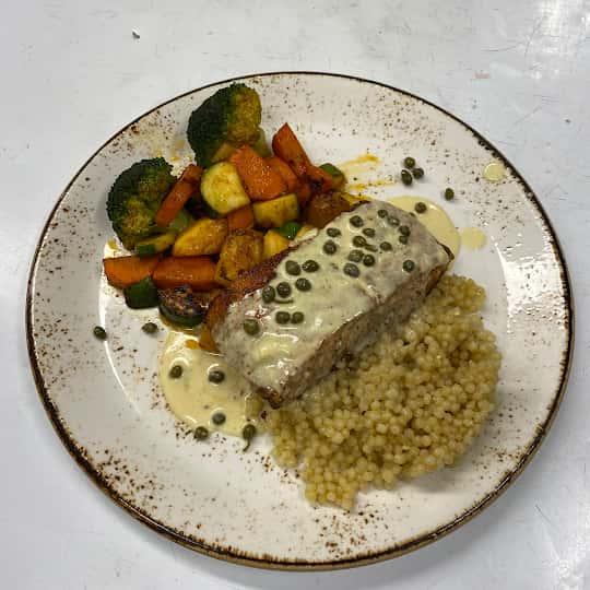 Salmon Dinner For Four