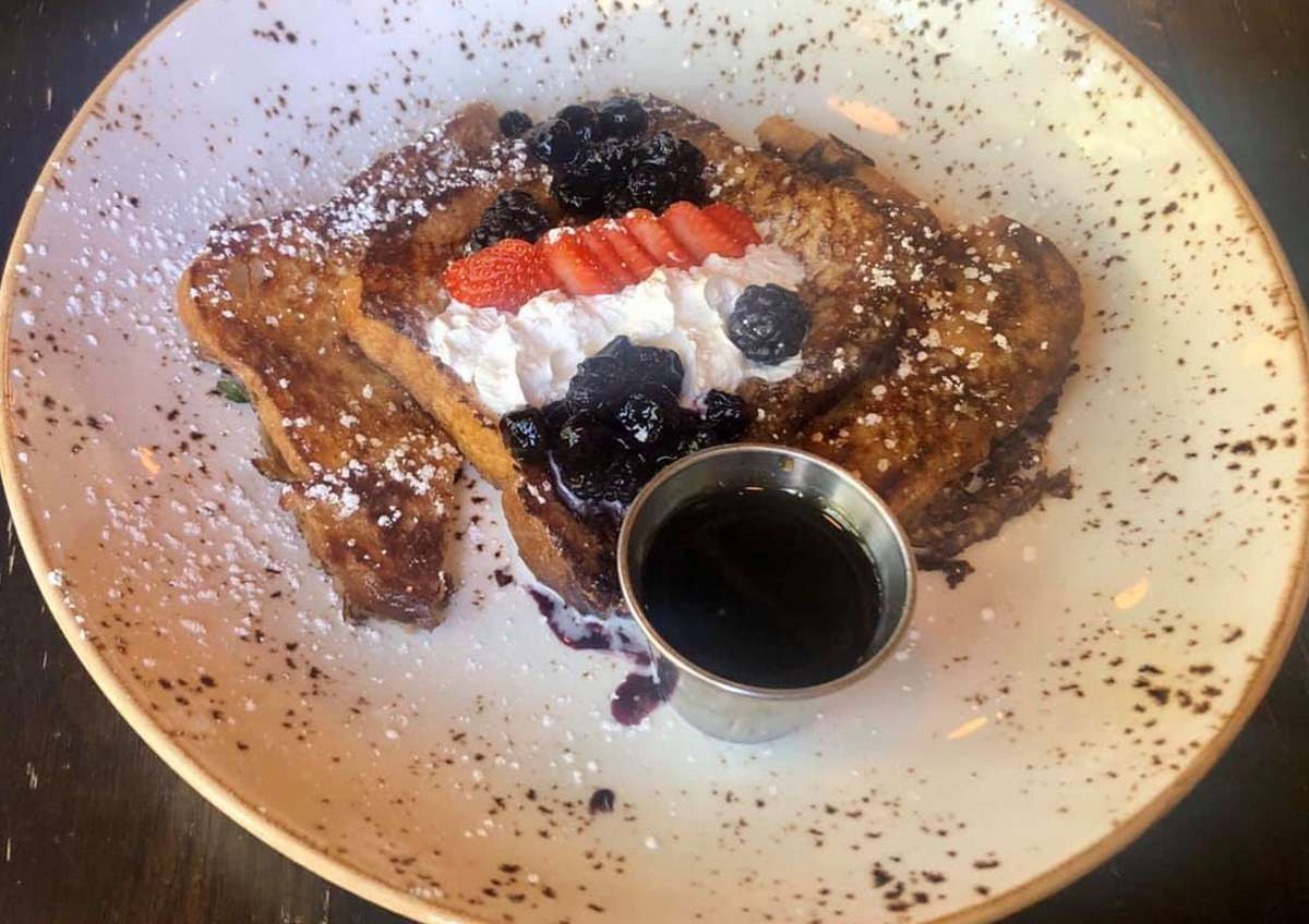 Berry Compote French Toast