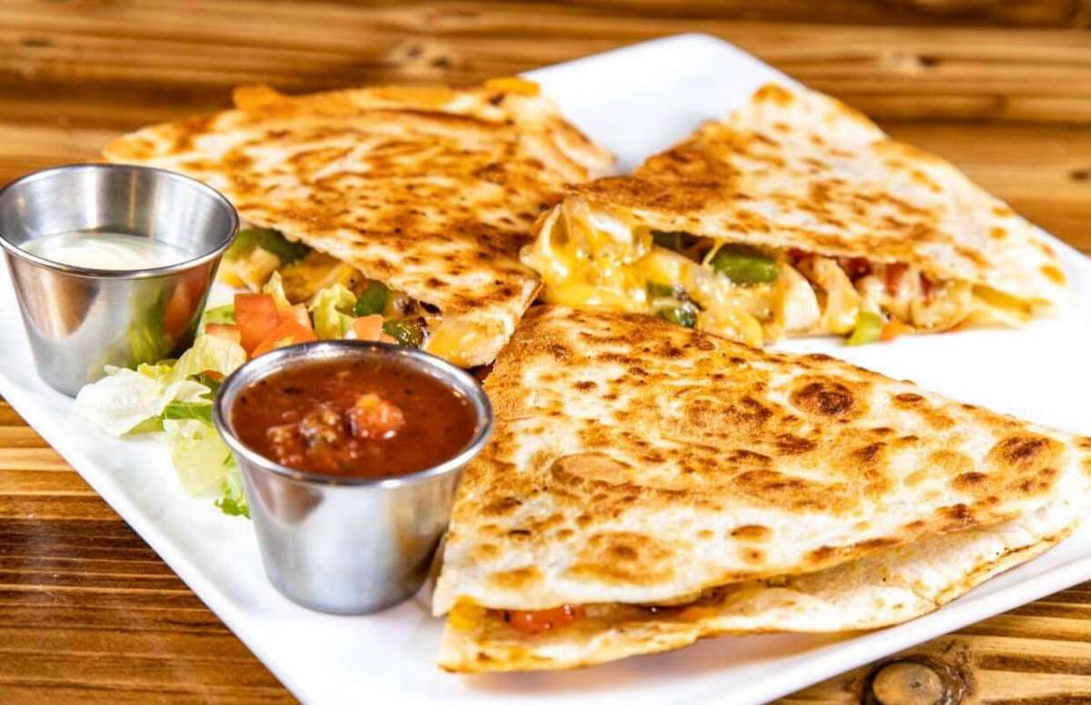 Epic Chicken Quesadilla
