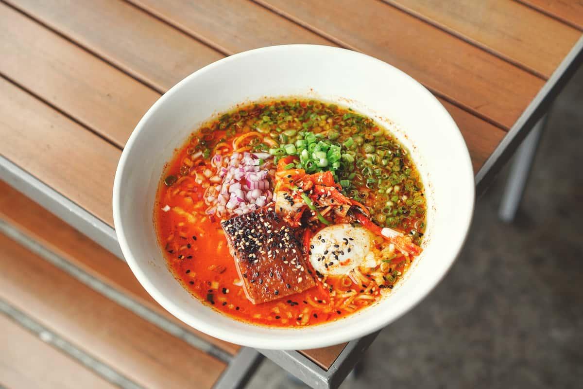 Kimchi Ramen (キムチラーメン)