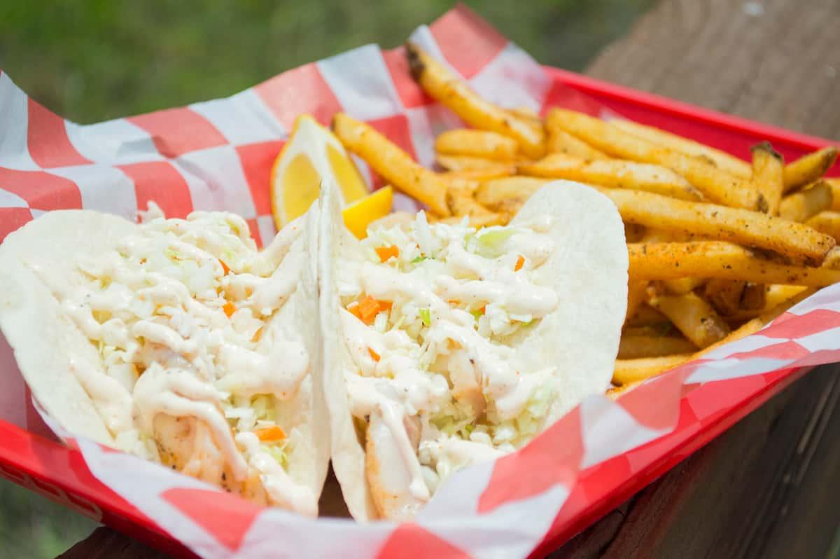 Old Bay Fish Tacos