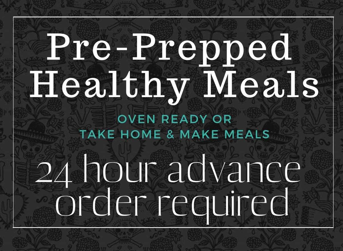 pre prepped meals