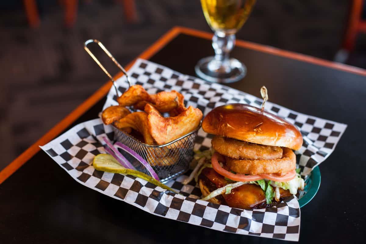 Barbecue Cheddar Burger