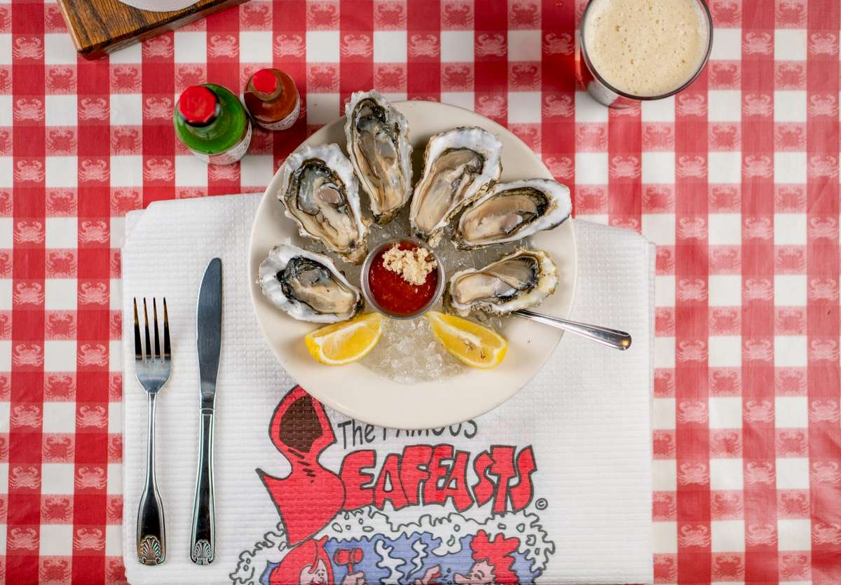 Oysters Half Shell