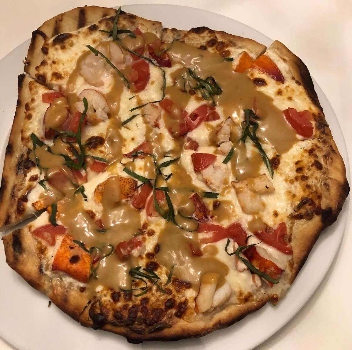 Lobster & Vine Ripe Tomato Pizza