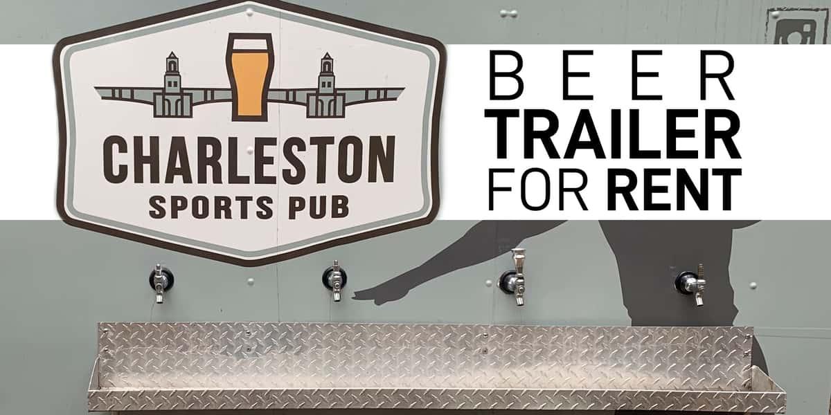 Beer Trailer for Rent