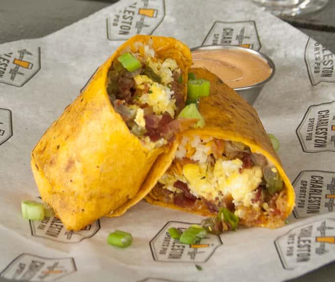"Breakfast Burrito ""Carl Spackler"""