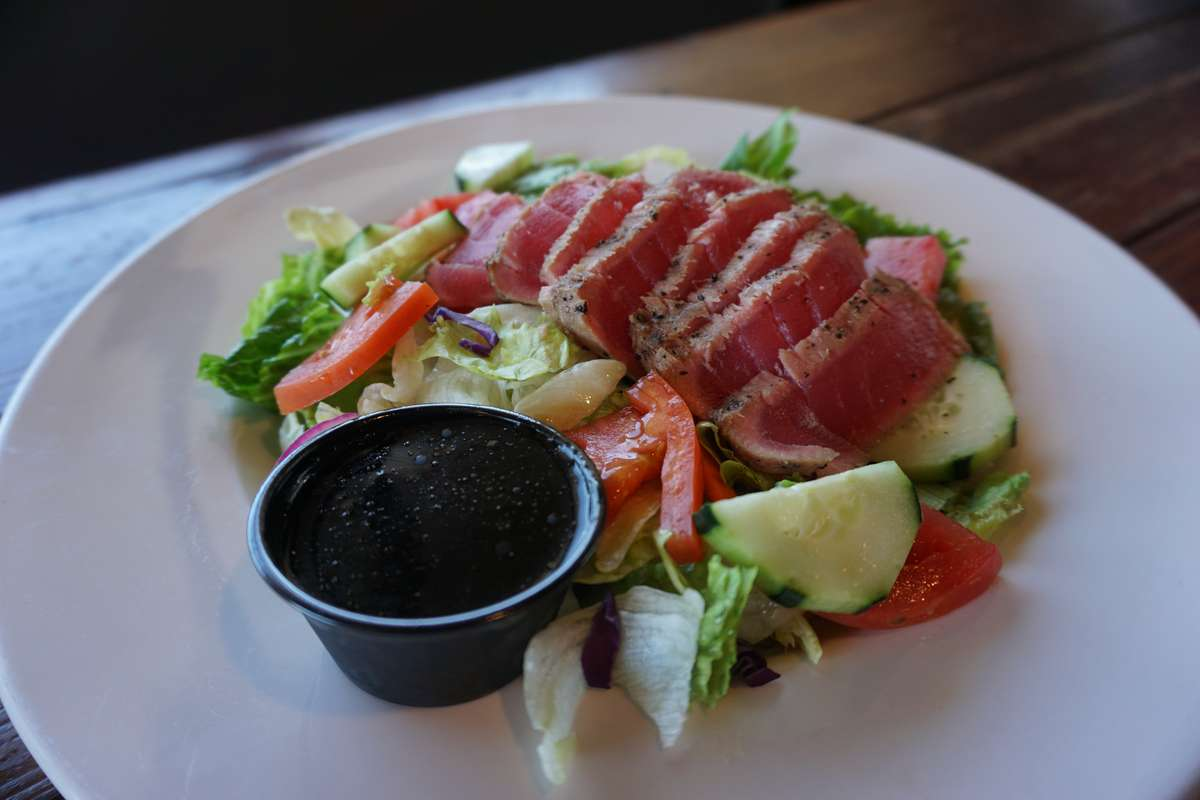 Fresh Ahi Tuna Salad