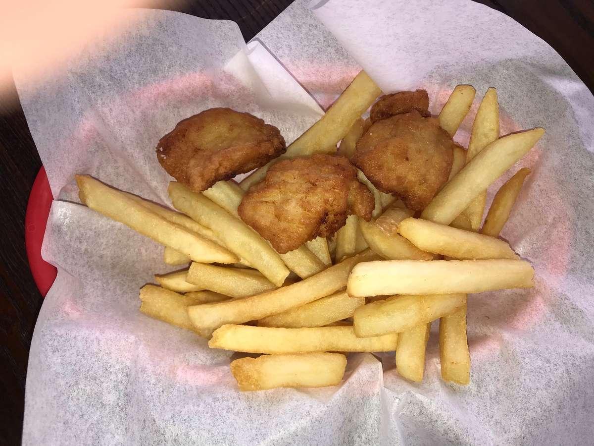 3 Piece Chicken Chunk Basket