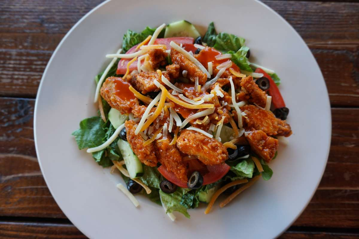 The Red Hot Chicken Salad
