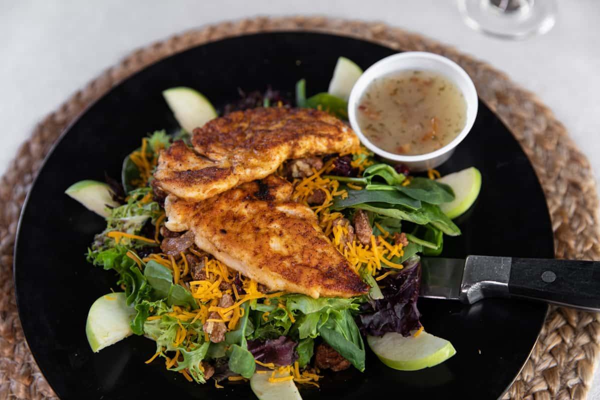 Glazed Nut Chicken Salad