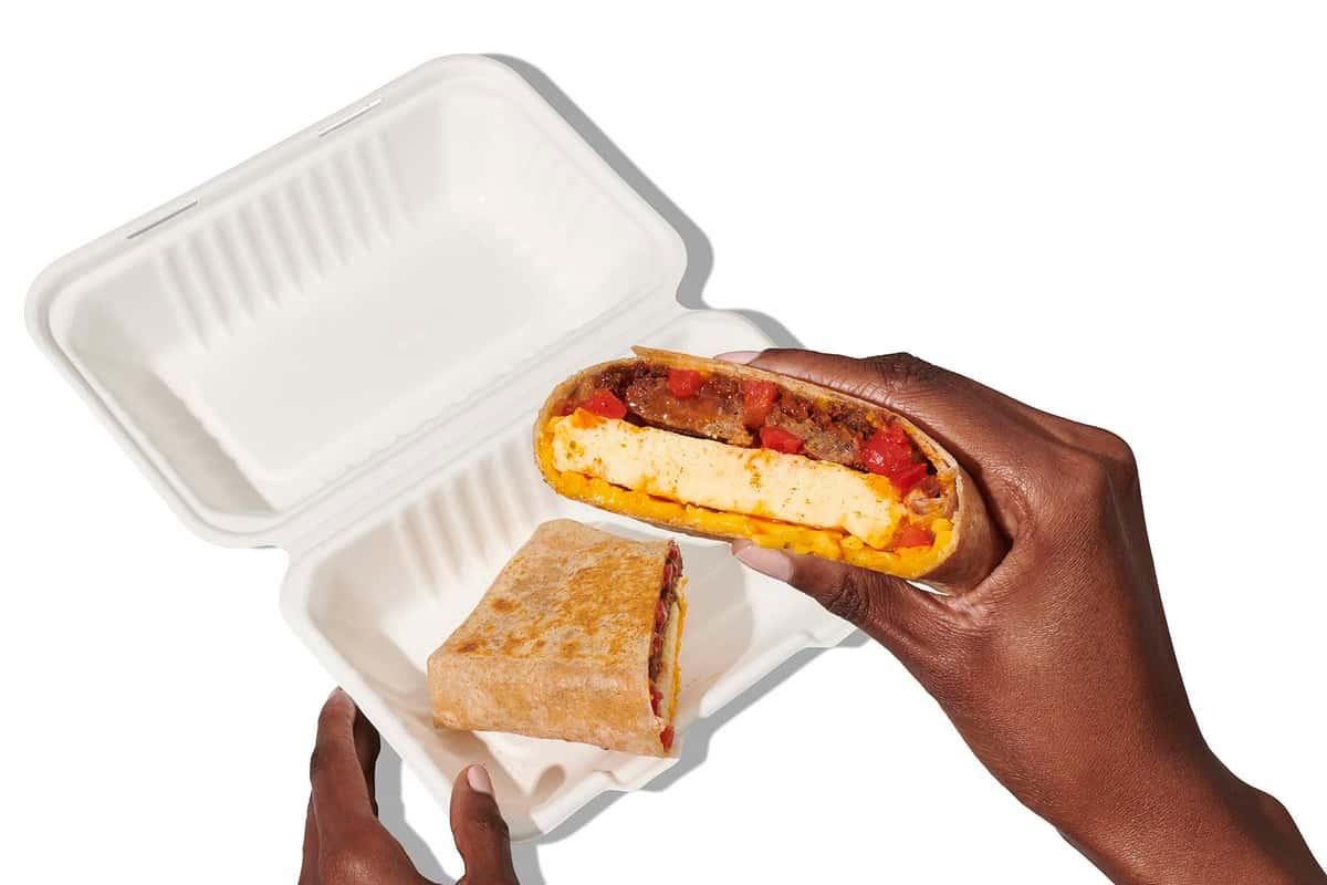 wrap in sandwich