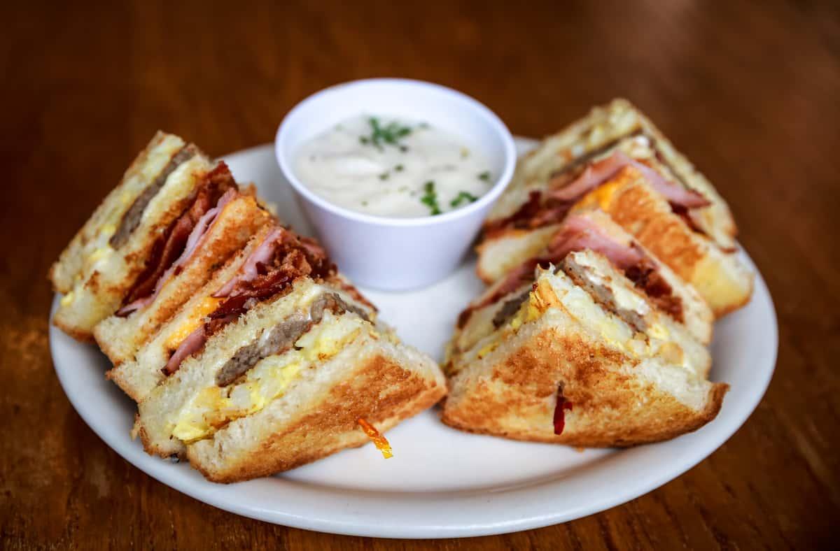 Frontier Breakfast Sandwich