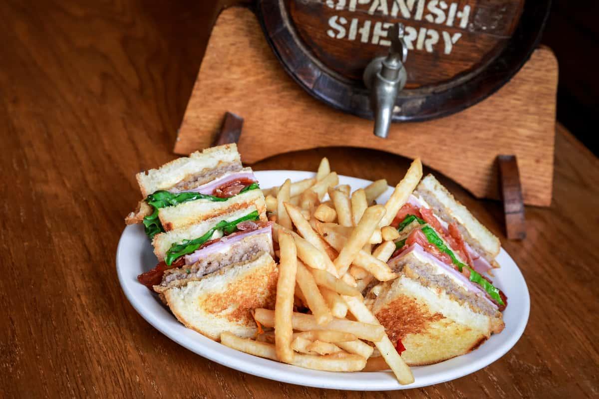 Cowboy Club Sandwich