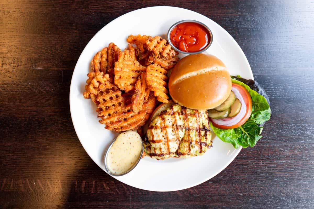 Bee Sting Chicken Sandwich