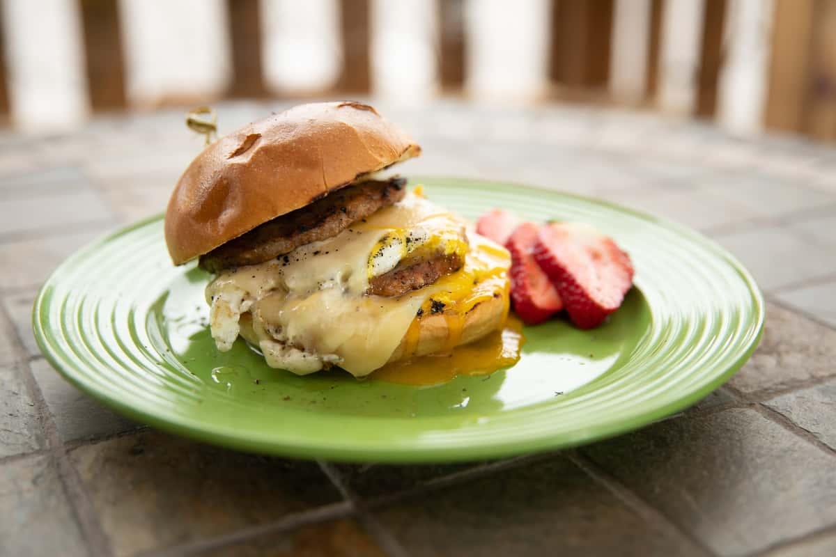 Big Mamas Breakfast Sandwich