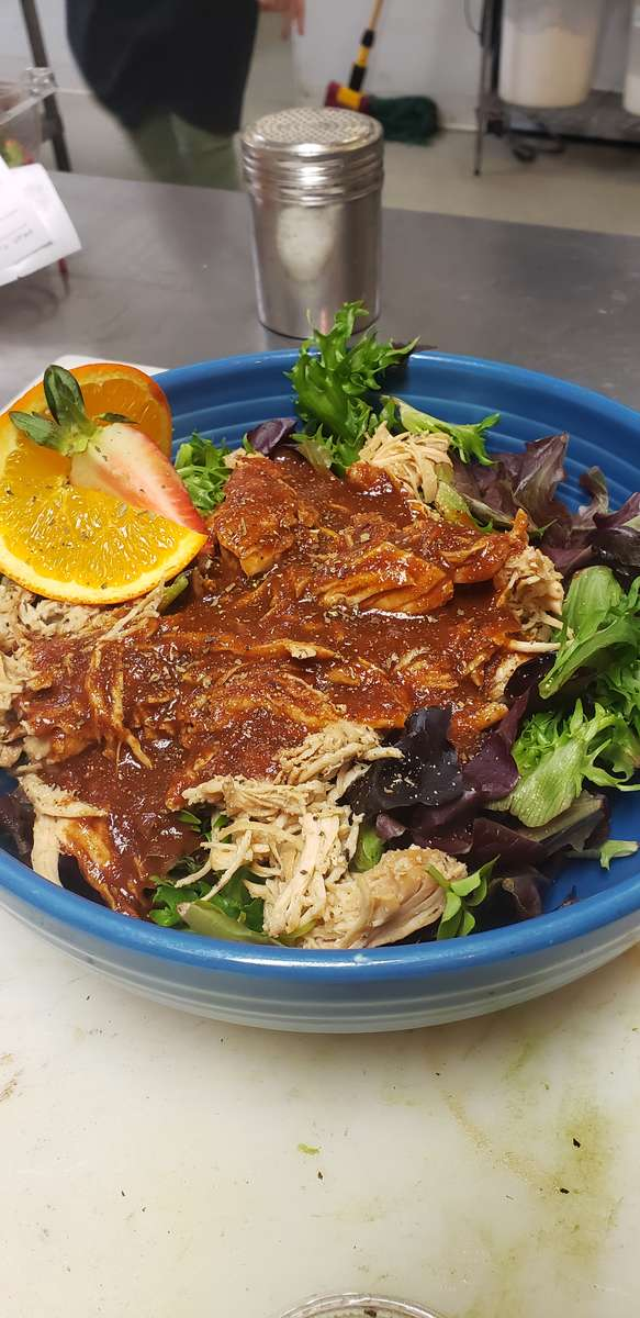 Caribbean Pulled Chicken