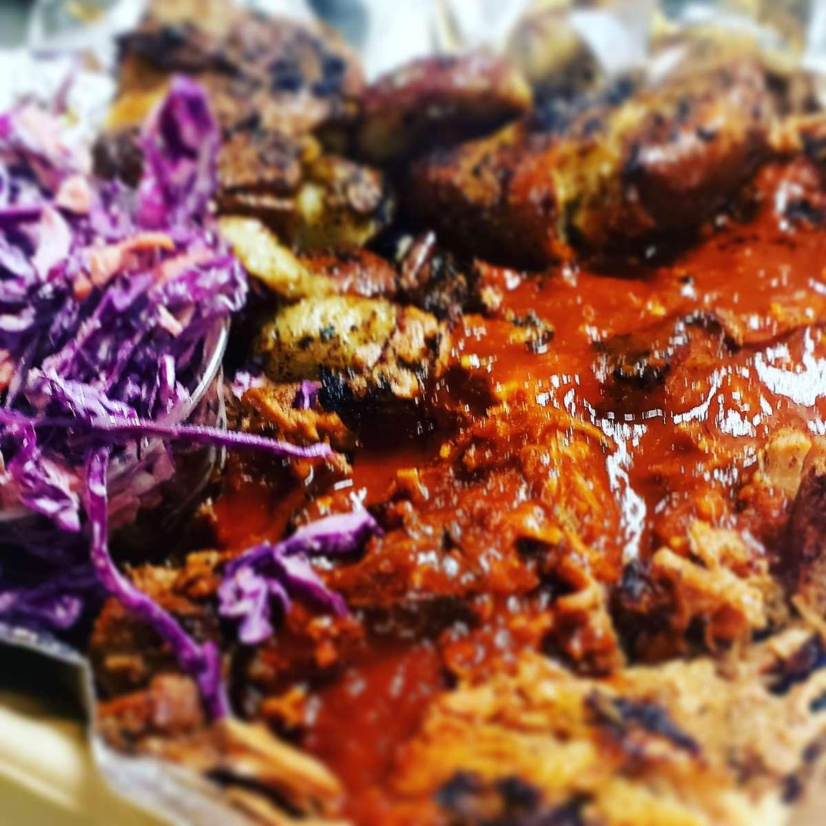 Caribbean Pulled Pork
