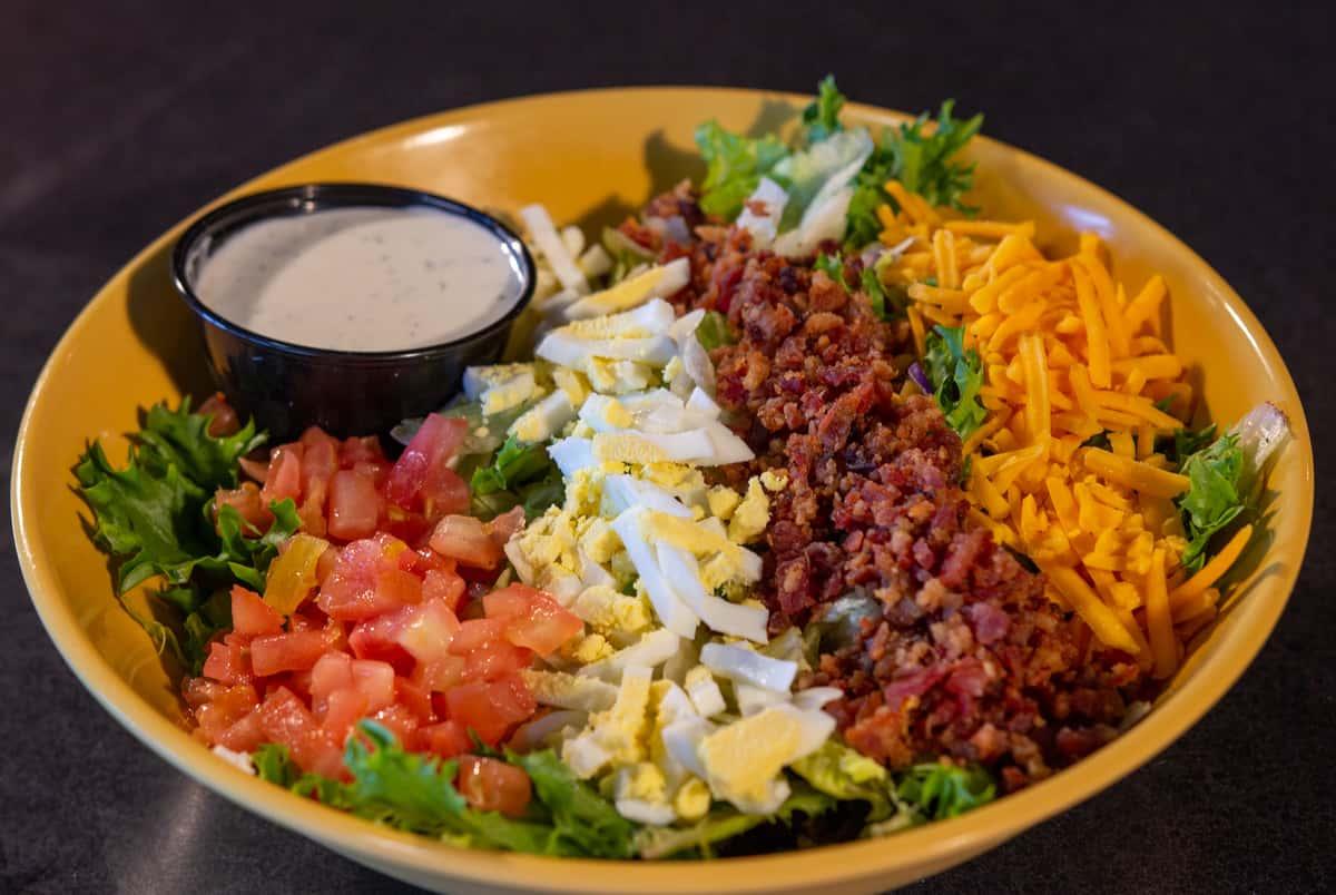 Chopped Lizard Salad