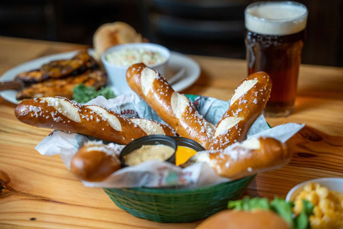 Soft Bavarian Pretzel Sticks
