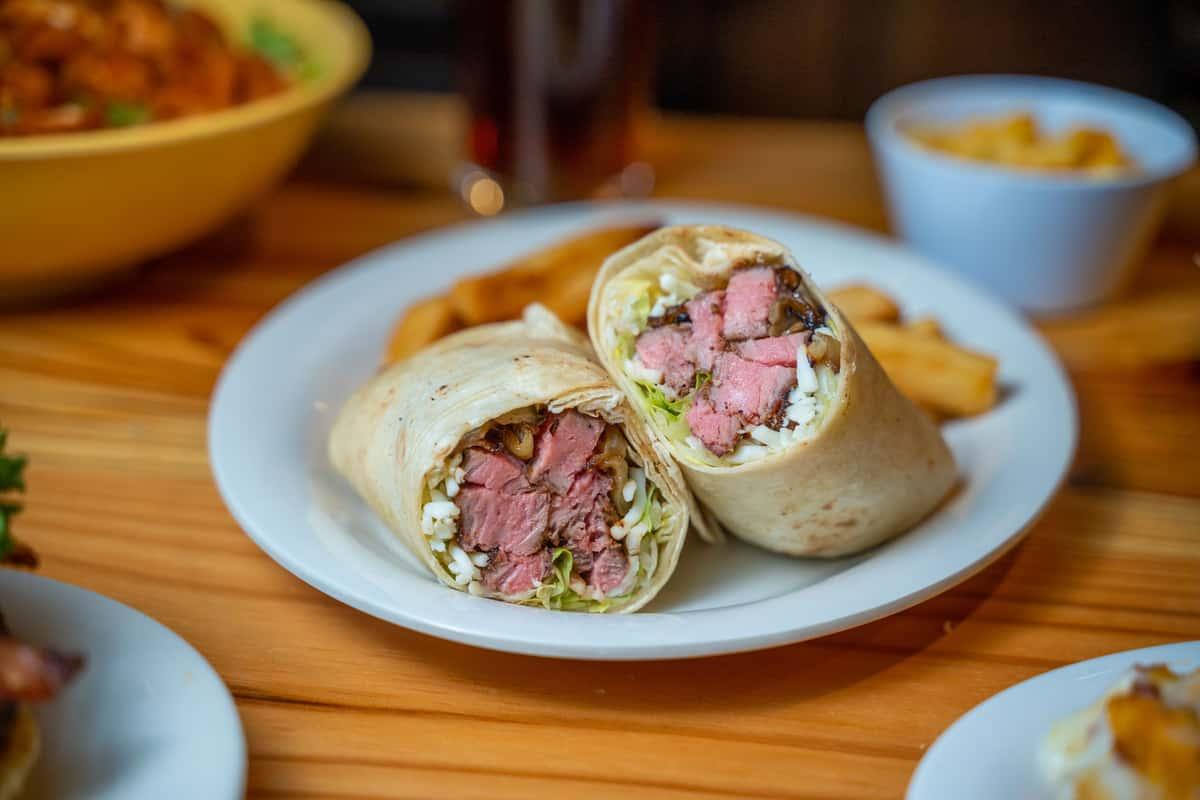Strip Steak Wrap*