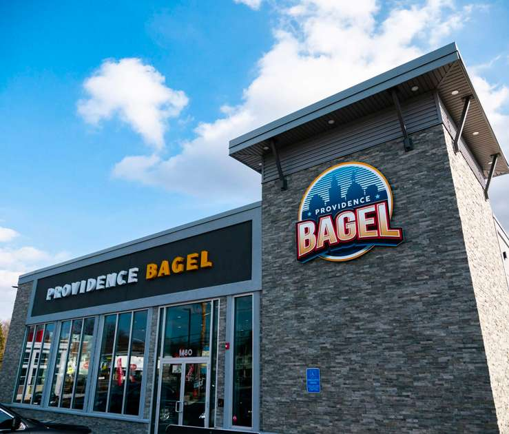 north providence bagel exterior