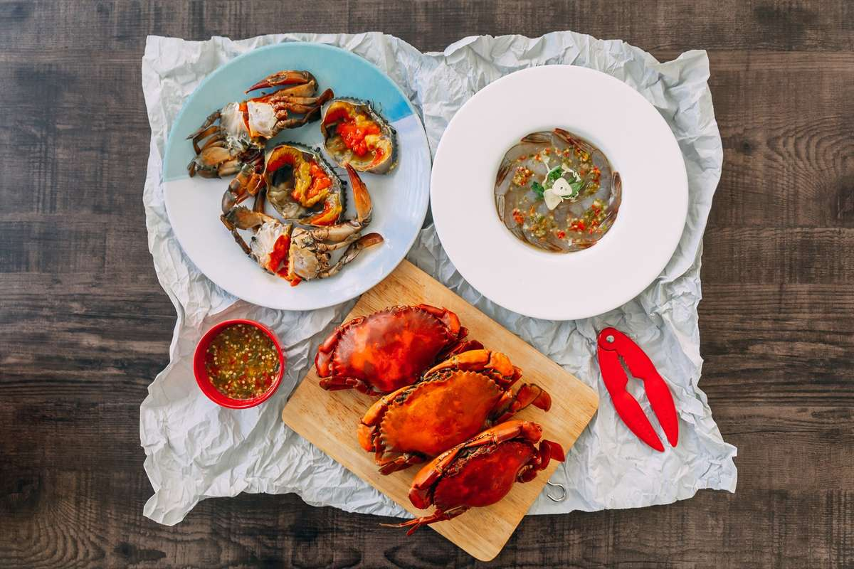 Boiled Seafood