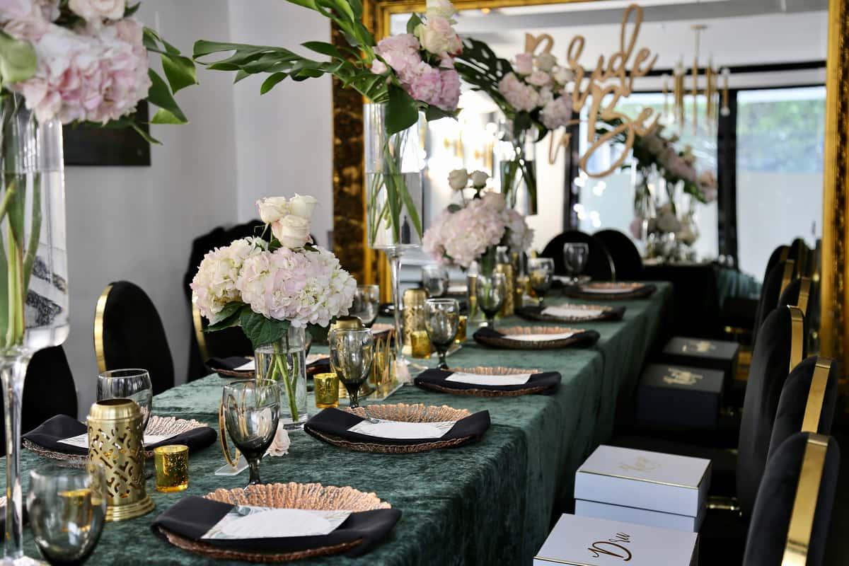 Interior dining at Upper Kirby