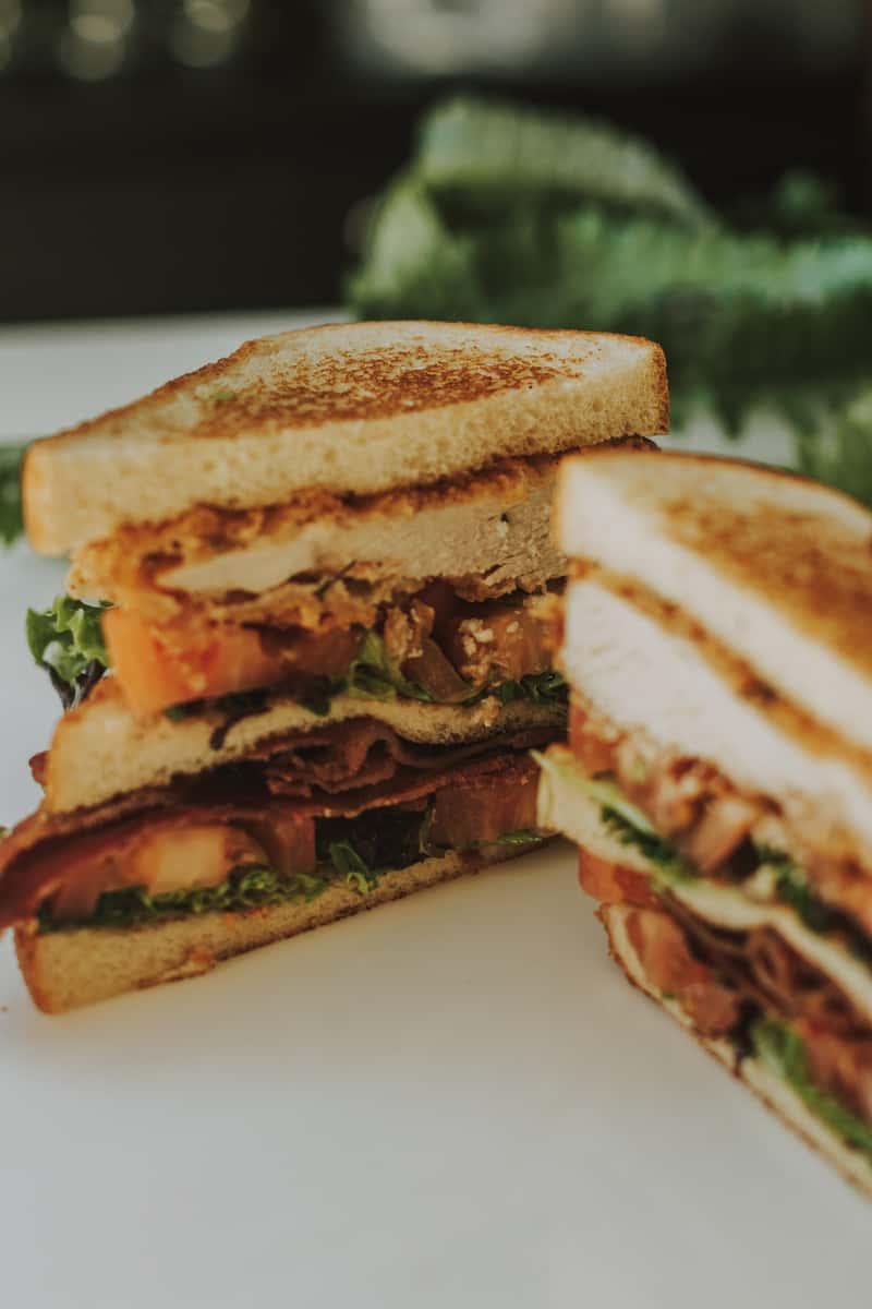 Lunch Spread - Fried Chicken Club