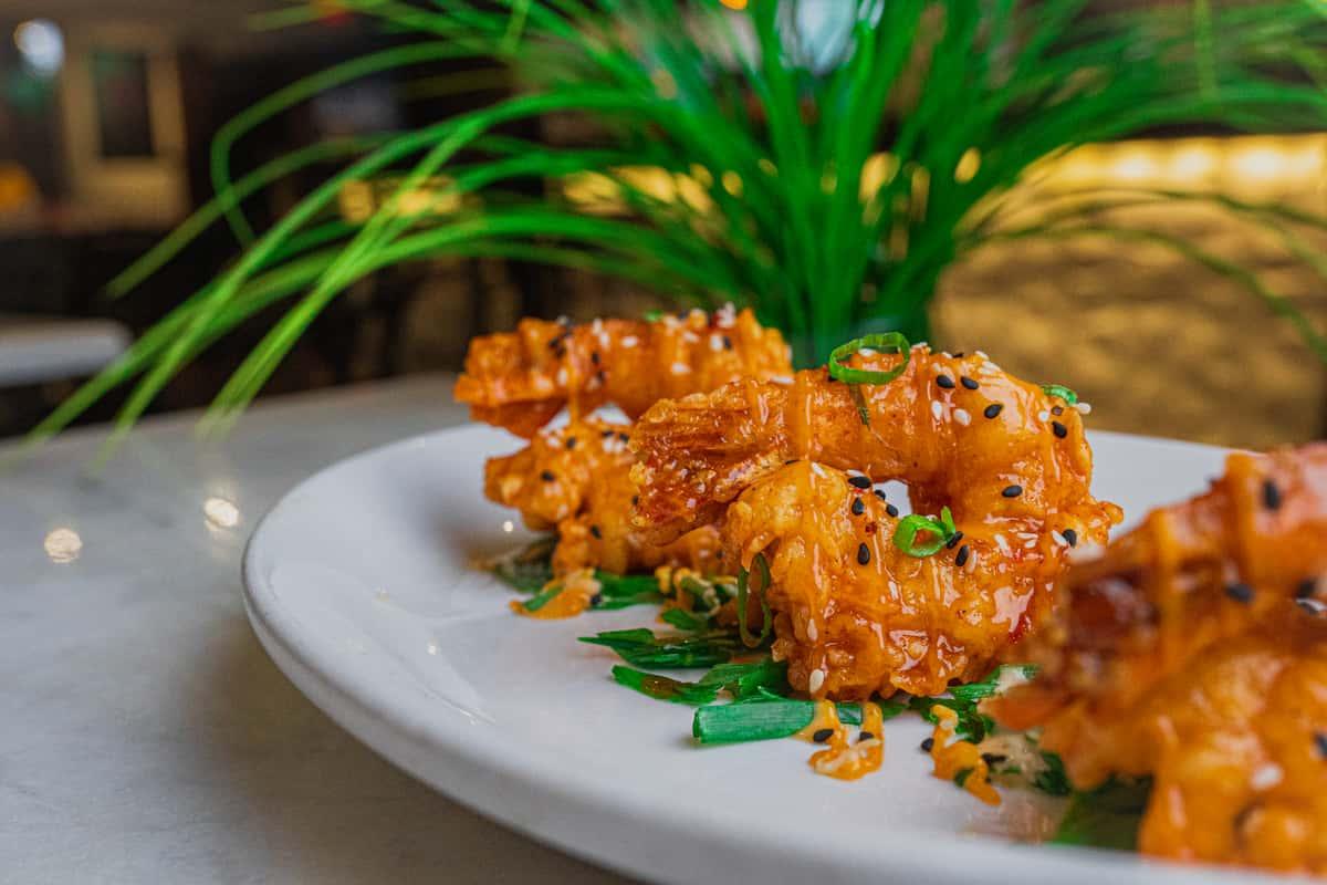 Crispy Asian Shrimp