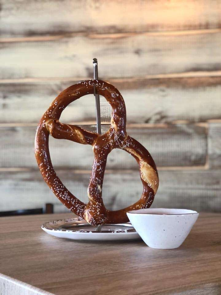 Bavarian Pretzel and Beer Cheese