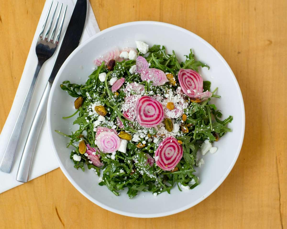 salad from landmark smokehouse