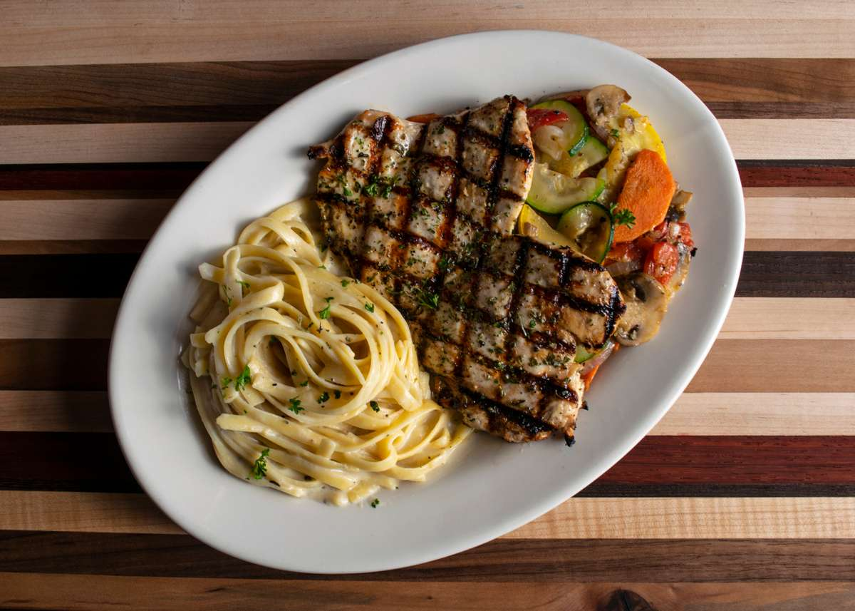 Grilled Chicken & Vegetables
