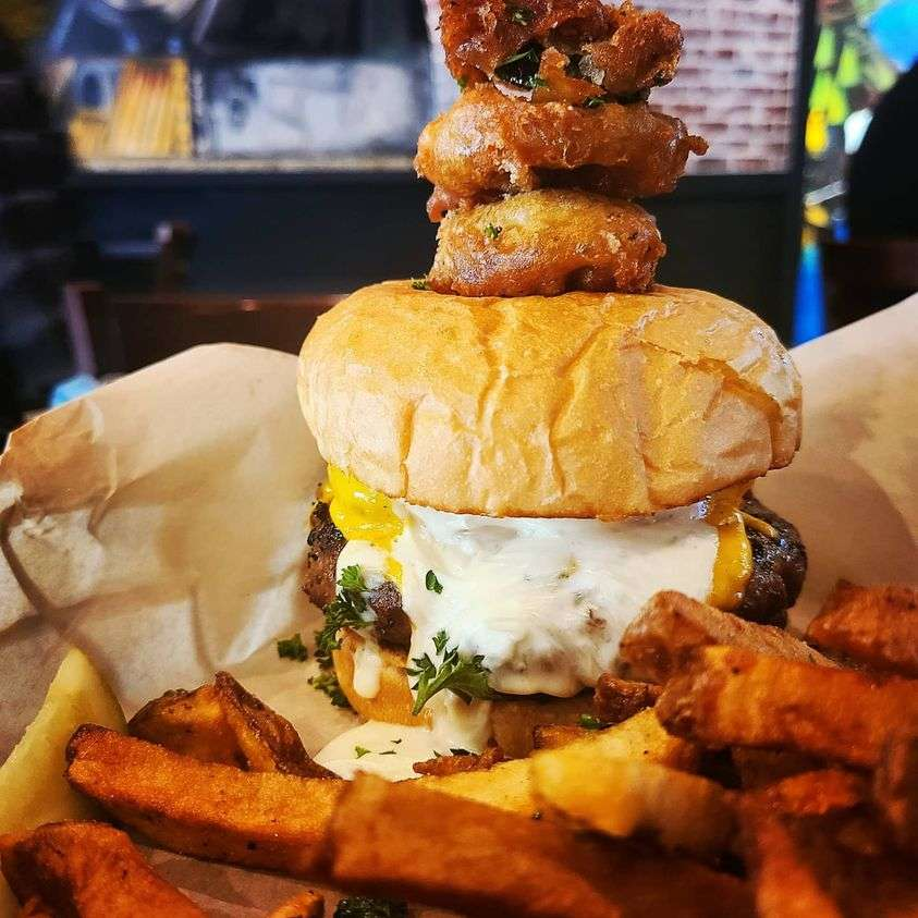 The Wisco Burger