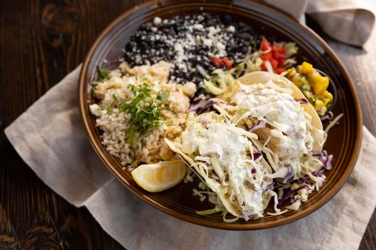 Fish Tacos or Shrimp Tacos