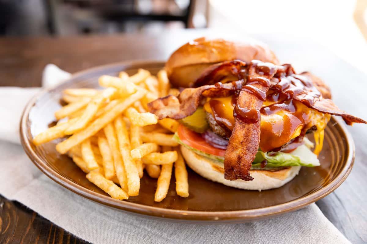 Bacon BBQ Ranch Burger