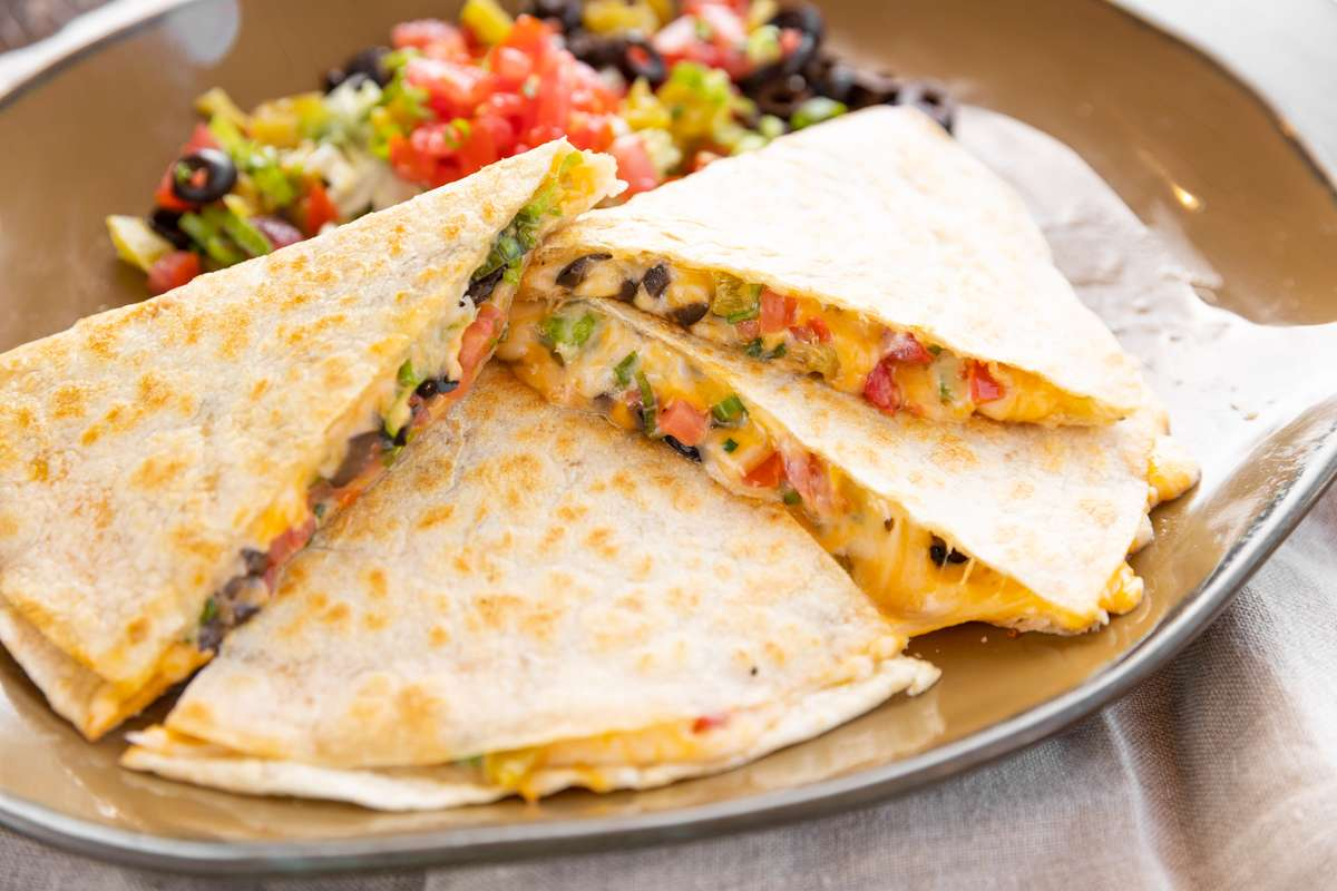 Stuff Grilled Quesadilla