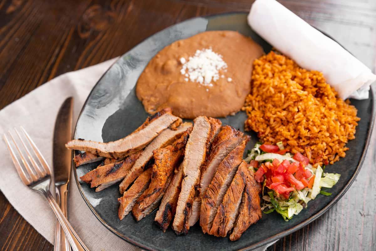 Carne Asada Plate