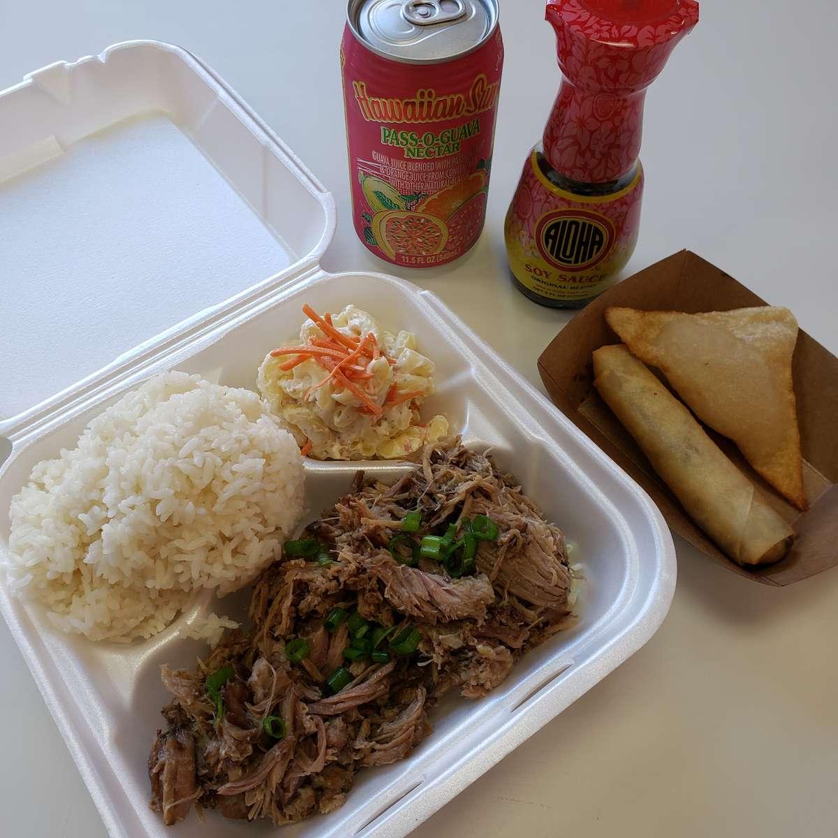 Regular Plate Lunch