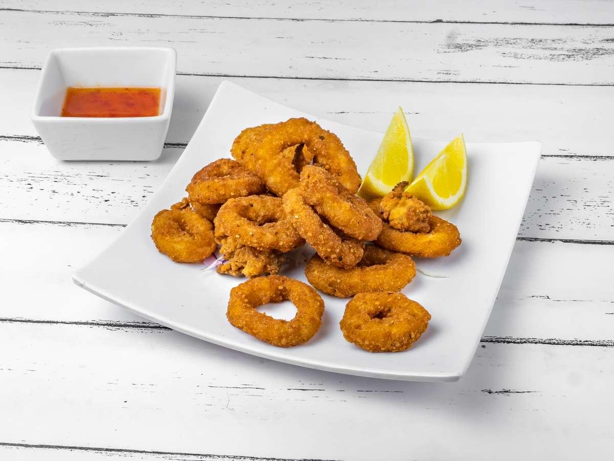 Fried Calamari / Mực Chiên Giòn