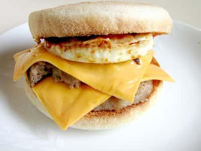 Egg & Sausage Muffin