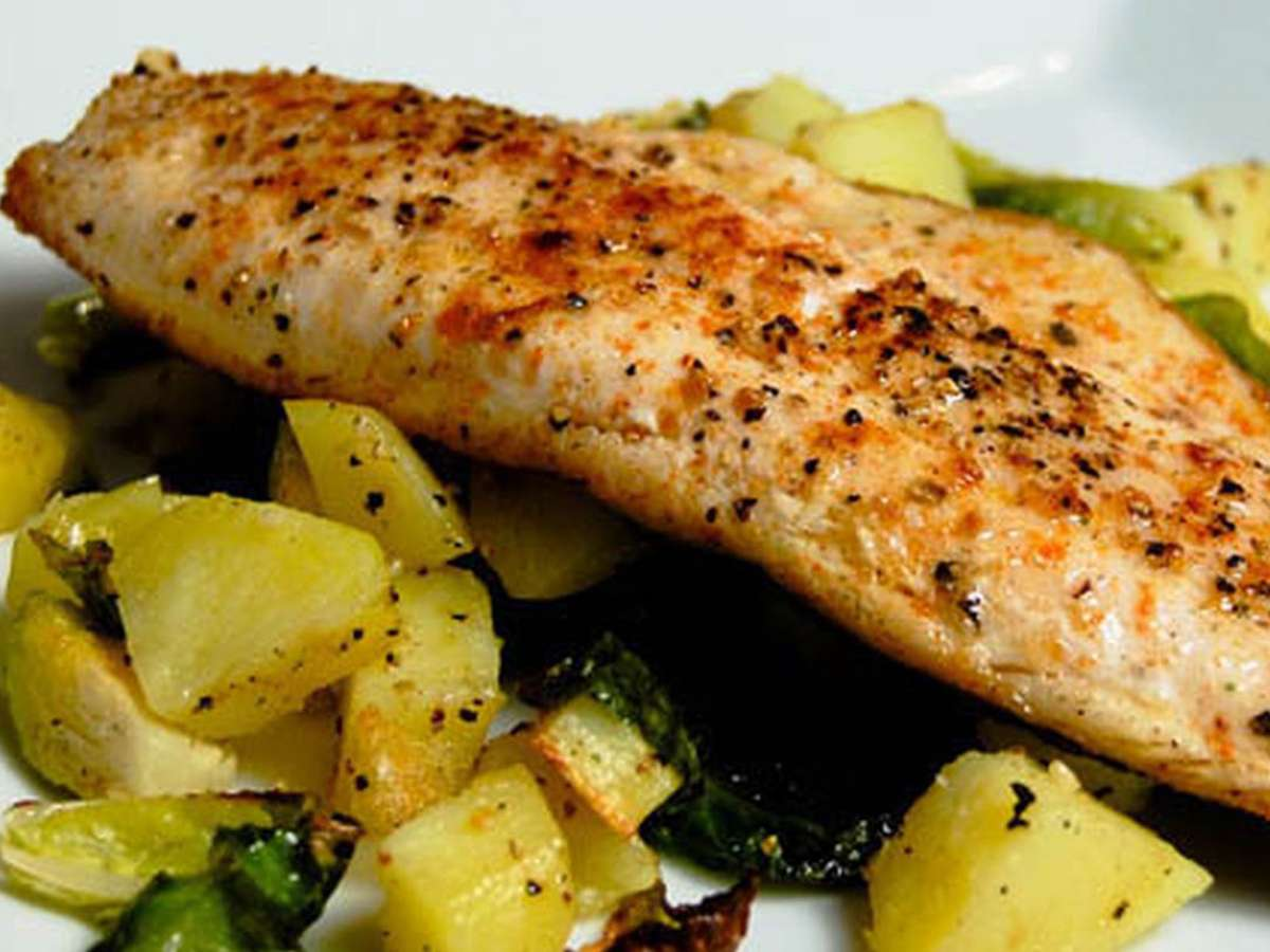 PAN SEARED TROUT