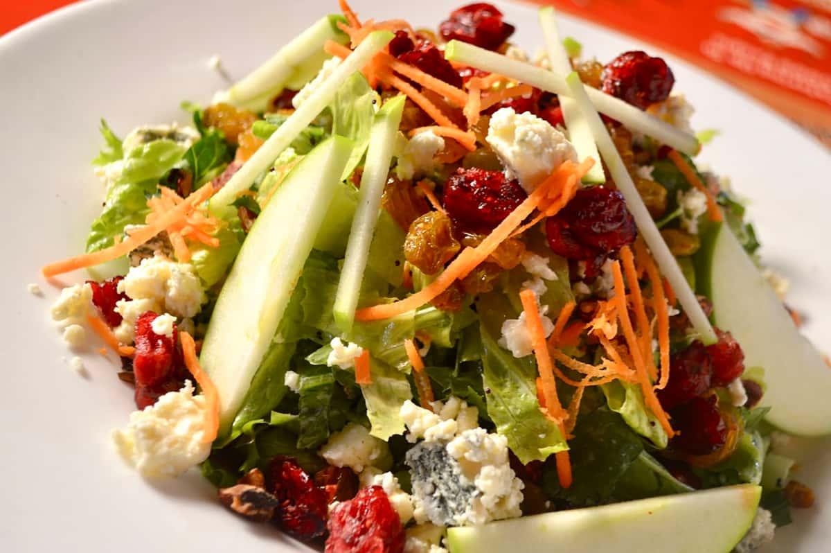 Chopped Fruit & Nut Salad