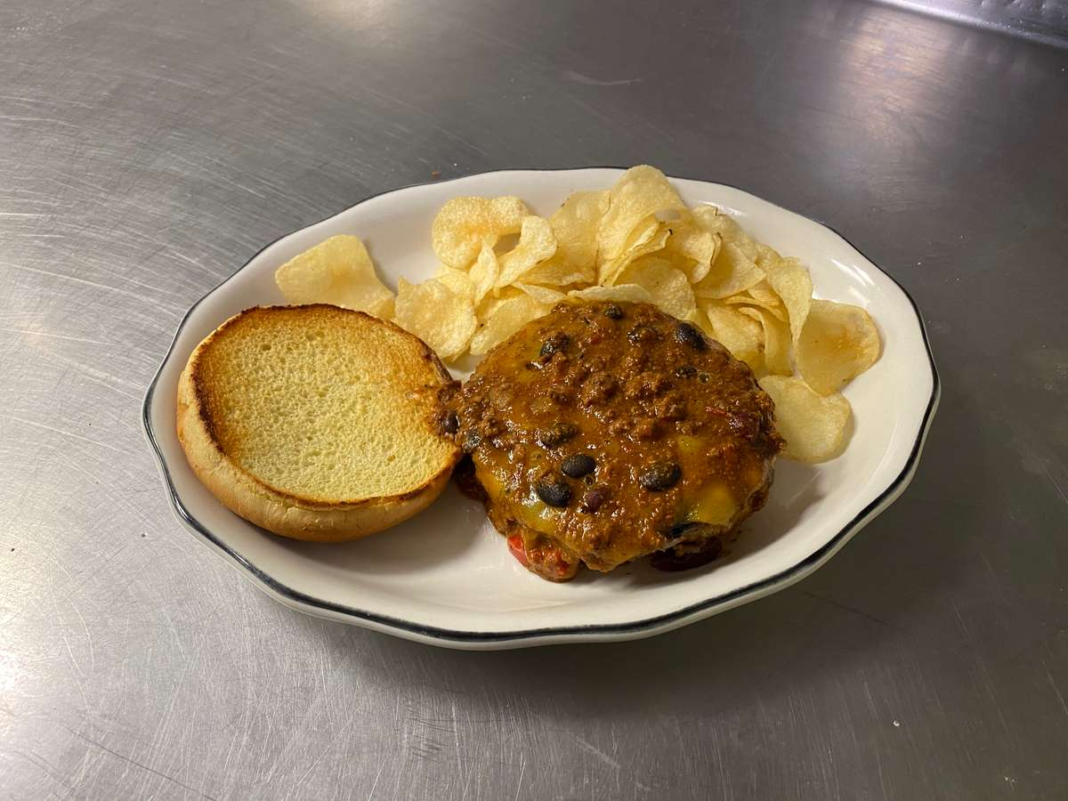 Chili Cheddar Burger
