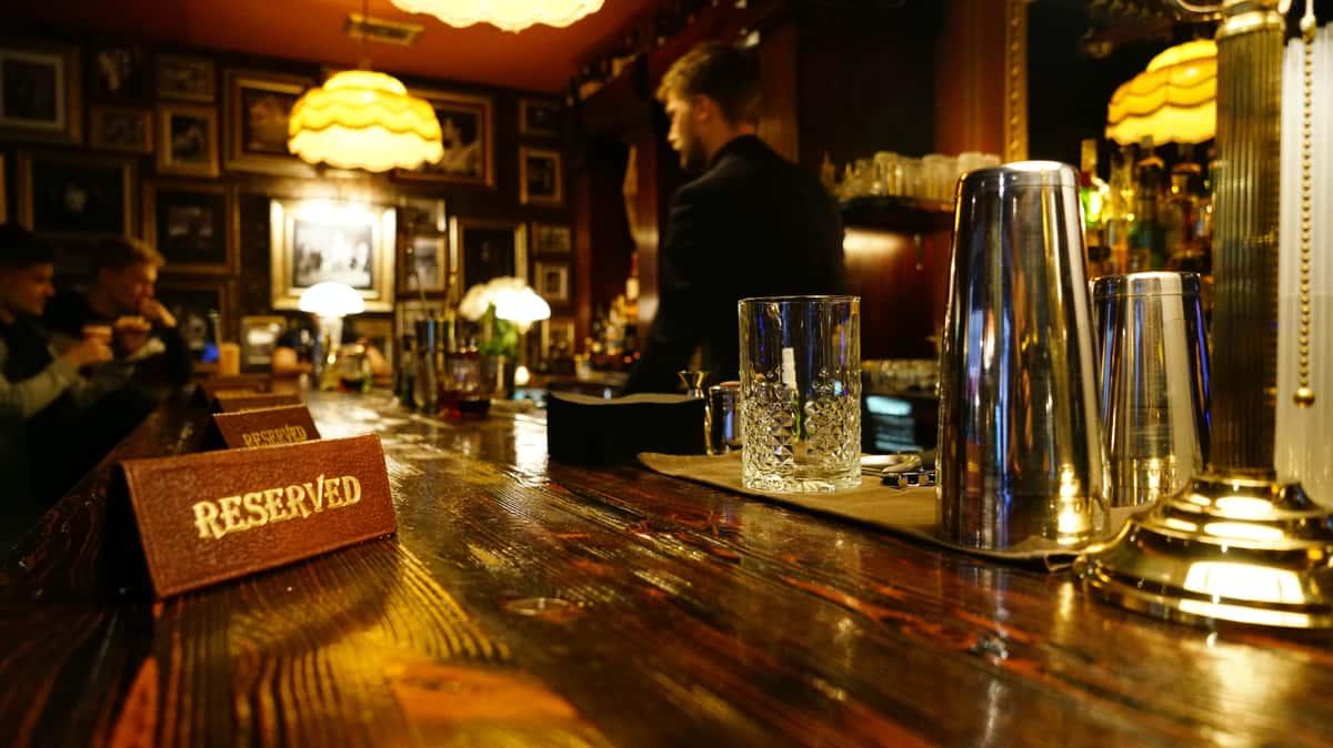reserved bar