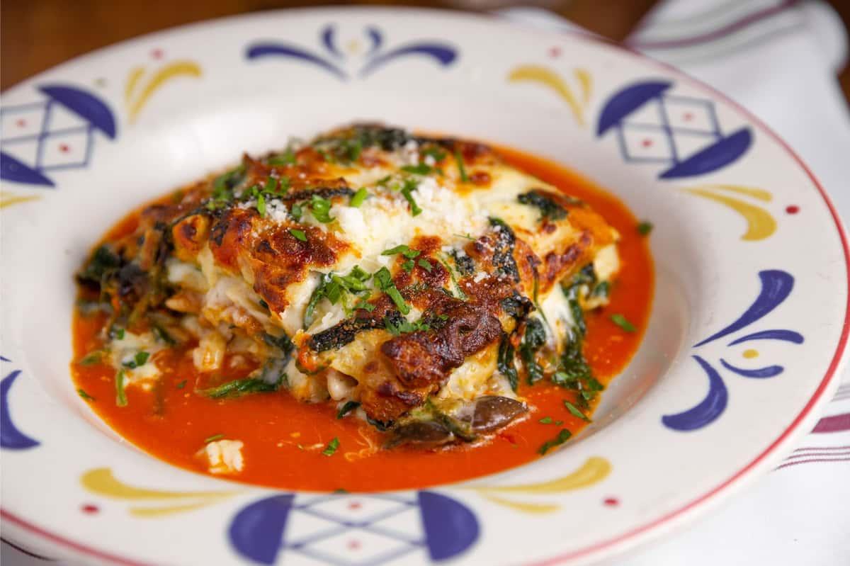 Lasagna Con Ragu Di Carne